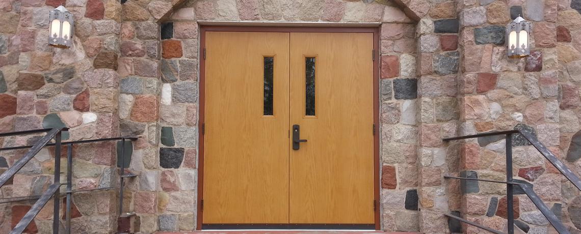 wooden doors ... & Commercial Walk Through Doors | Mid Central Door